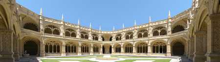 Jerónimos Monastery cloister